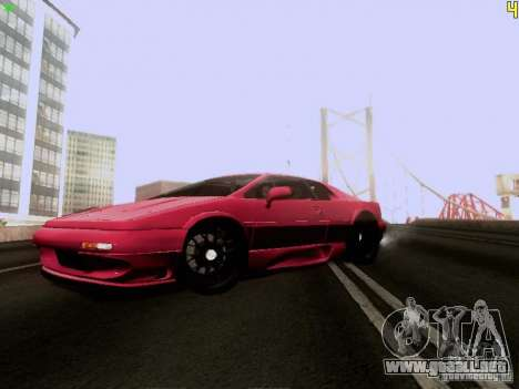 Lotus Esprit V8 para GTA San Andreas left