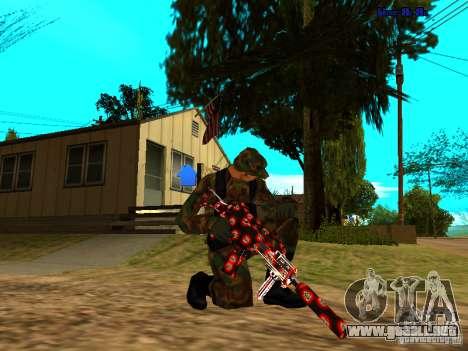 Trollface weapons pack para GTA San Andreas segunda pantalla