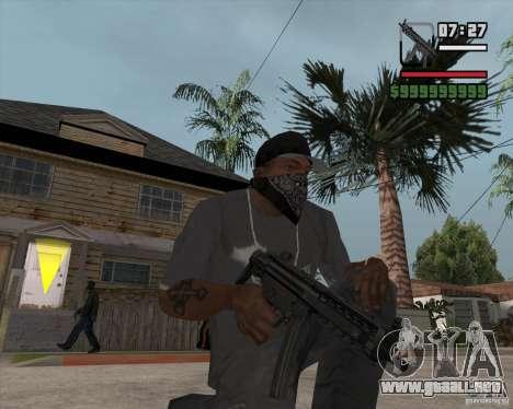 New MP5 (Submachine gun) para GTA San Andreas