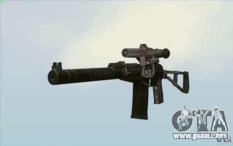 Como Rifle de asalto de Val para GTA San Andreas