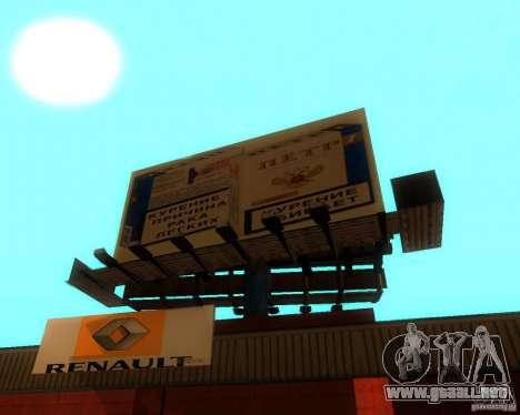 New Garage Painting para GTA San Andreas tercera pantalla