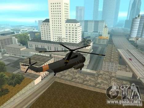 Enterable Leviathan para la visión correcta GTA San Andreas