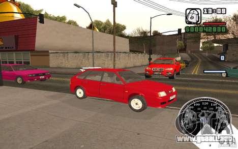 VAZ 21093i para la vista superior GTA San Andreas