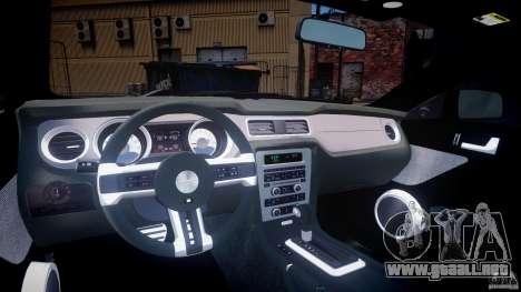 Ford Mustang V6 2010 Premium v1.0 para GTA 4 visión correcta