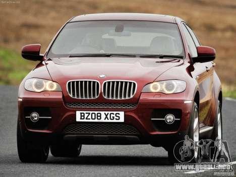 Pantallas de carga BMW X 6 para GTA San Andreas sexta pantalla