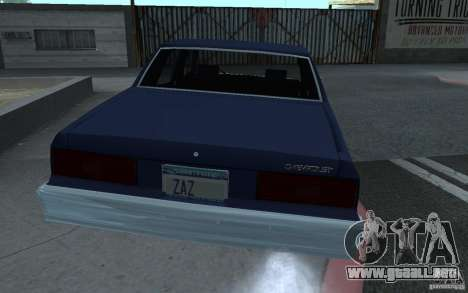 1983 Chevrolet Impala para GTA San Andreas left