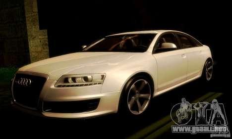 Audi RS6 TT para GTA San Andreas left