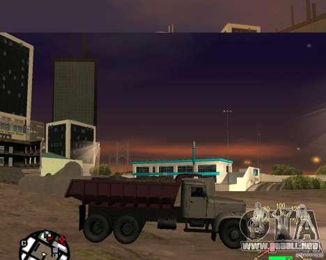 Camión KrAZ-256 para GTA San Andreas left
