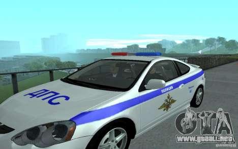 Policía en el puente de San Fiero_v. 2 para GTA San Andreas quinta pantalla