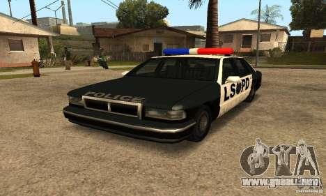 Faroles de señales luminosas para GTA San Andreas