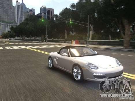 Porsche Boxster S 2010 EPM para GTA 4 vista hacia atrás