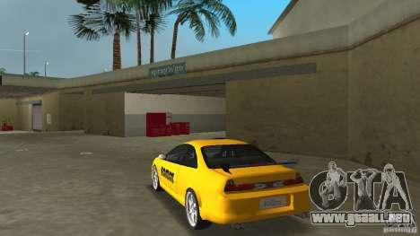 Honda Accord Coupe Tuning para GTA Vice City vista lateral izquierdo