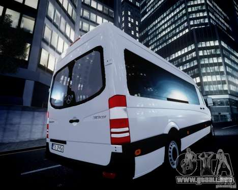 Mercedes-Benz Sprinter Long para GTA motor 4