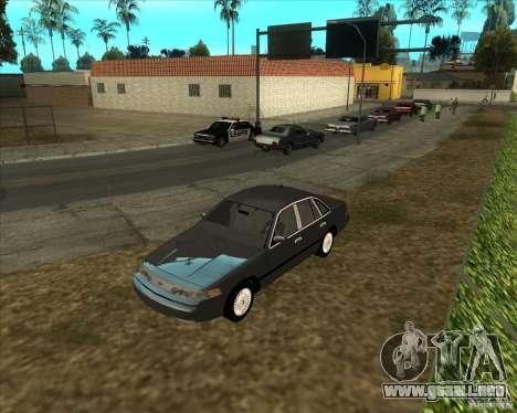 ENBSeries buena vieja para GTA San Andreas segunda pantalla