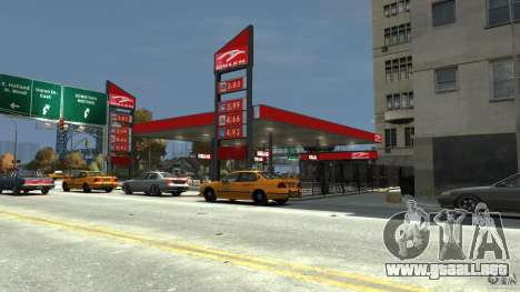 New gas station para GTA 4 tercera pantalla