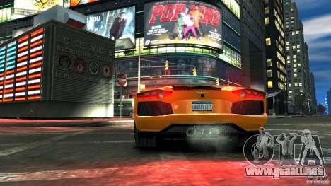Lamborghini Aventador LP700-4 2011 EPM para GTA 4 visión correcta