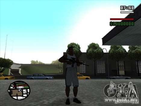 I AM Legend M4A1 para GTA San Andreas segunda pantalla