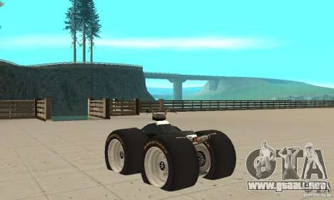 QUAD BIKE Custom Version 1 para GTA San Andreas vista posterior izquierda