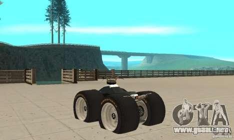 QUAD BIKE Custom Version 1 para GTA San Andreas vista posterior izquierda