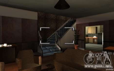 Es ruso Hata CJ para GTA San Andreas sucesivamente de pantalla