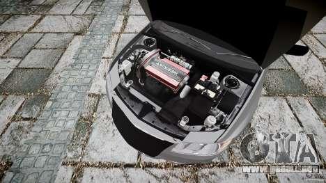 Mitsubishi Lancer Evolution VIII v1.0 para GTA 4 visión correcta