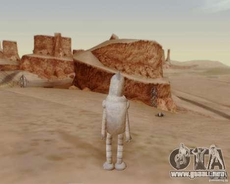 Futurama para GTA San Andreas quinta pantalla