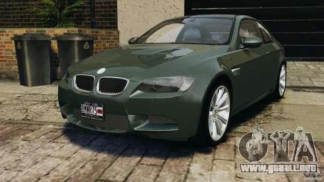 BMW M3 E92 2007 v1.0 [Beta] para GTA 4