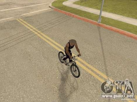 Ocultar-conseguir armas en el coche para GTA San Andreas sucesivamente de pantalla