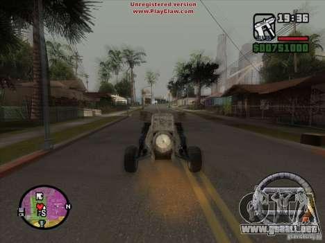 Turbo car v.2.0 para visión interna GTA San Andreas