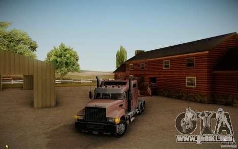 Mack Pinnacle Rawhide Edition para GTA San Andreas left