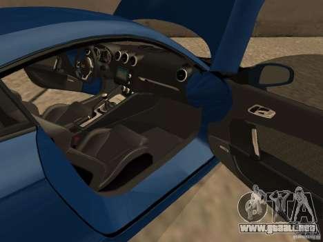 Audi TT RS para visión interna GTA San Andreas
