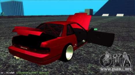 Nissan Onivia para visión interna GTA San Andreas