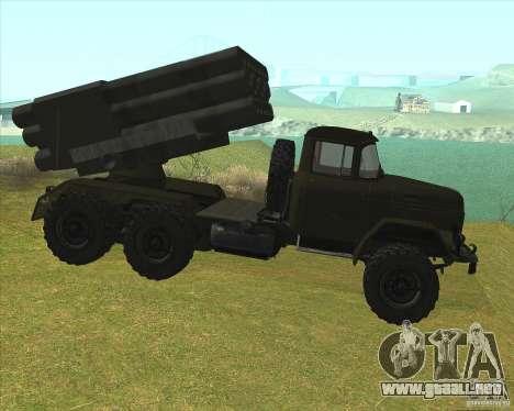 ZIL-131 en Grad para GTA San Andreas left