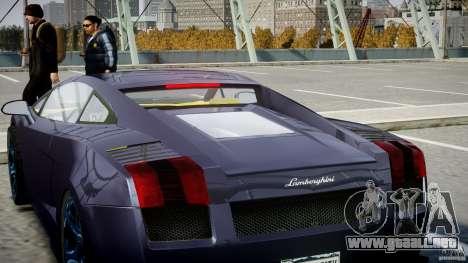 Lamborghini Gallardo Superleggera para GTA motor 4