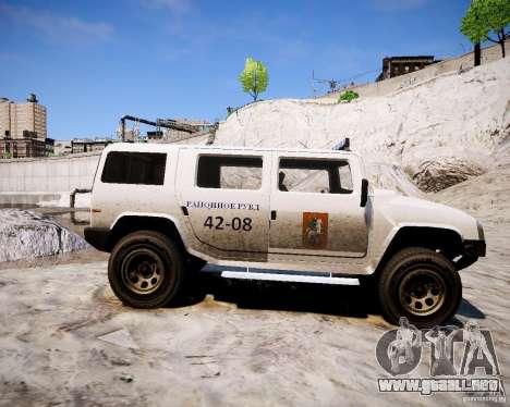 Russian NOOSE Patriot para GTA 4 left