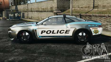 NFSOL State Police Car [ELS] para GTA 4 left