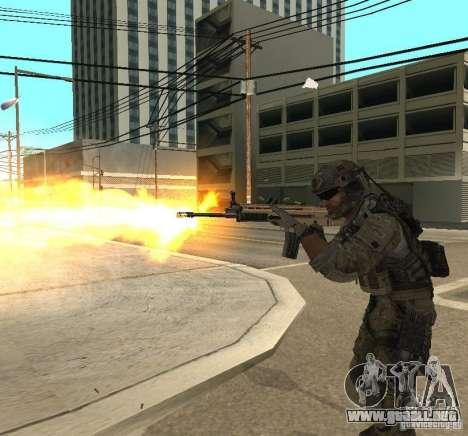Frost and Sandman para GTA San Andreas quinta pantalla