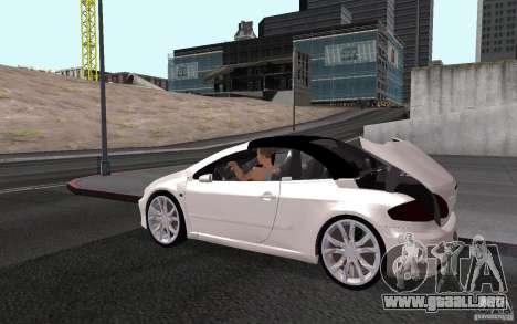 Peugeot 307CC BMS para el motor de GTA San Andreas