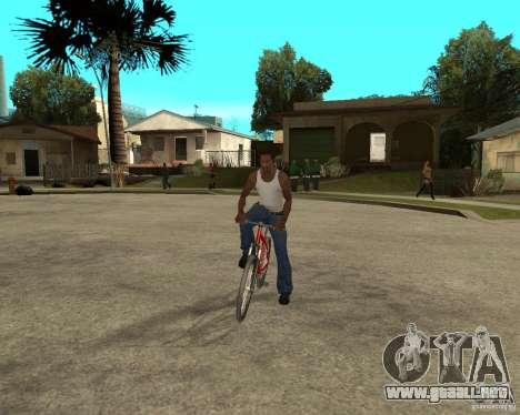 Kona Cowan 2005 para GTA San Andreas vista hacia atrás