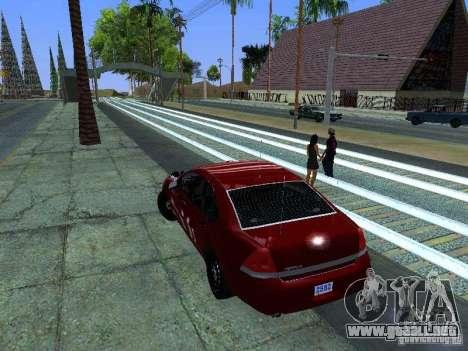 Chevrolet Impala Unmarked para la visión correcta GTA San Andreas