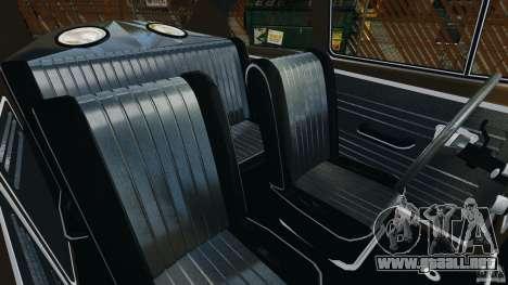 Volkswagen Fusca Gran Luxo v2.0 para GTA 4 vista interior