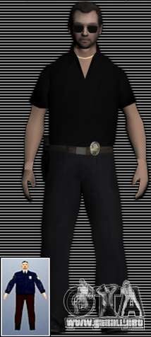 New FBI Agents para GTA San Andreas segunda pantalla