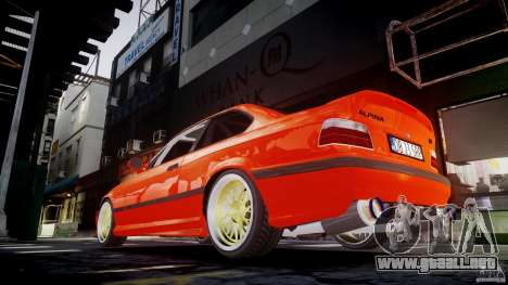 BMW E36 Alpina B8 para GTA 4 interior
