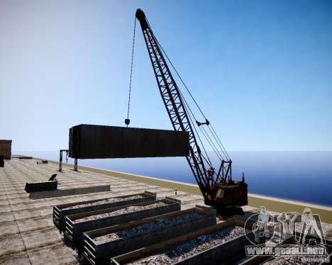 LC Crash Test Center para GTA 4 quinta pantalla