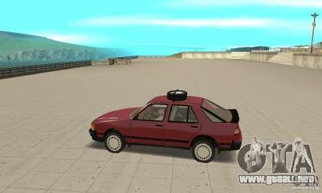 Saab 9000 para GTA San Andreas left