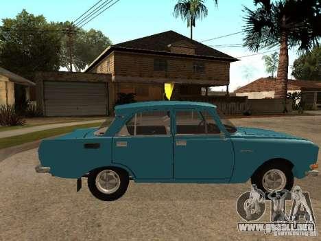 AZLK 2140 v2 para GTA San Andreas left
