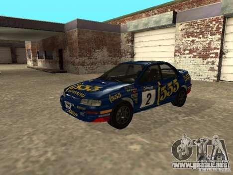 Subaru Impreza WRX STI 1995 para el motor de GTA San Andreas