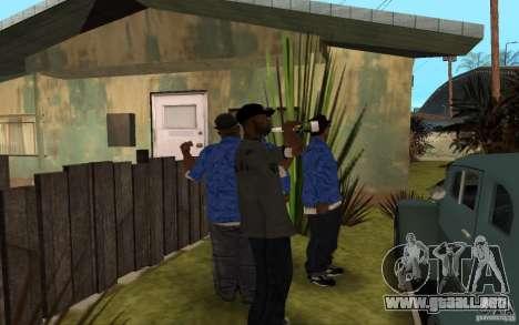 Crips 4 Life para GTA San Andreas octavo de pantalla