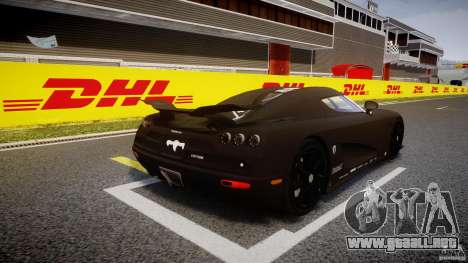 Koenigsegg CCXR Edition para GTA 4 vista lateral