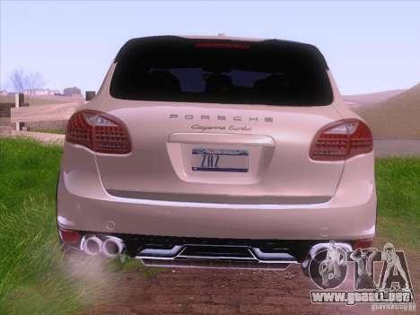 Porsche Cayenne Turbo 958 2011 V2.0 para la visión correcta GTA San Andreas